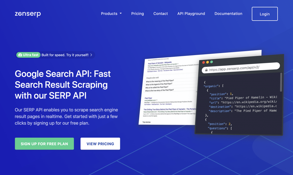 zenserp google search api