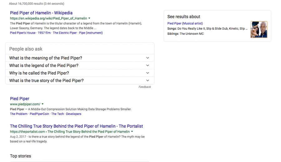 SERP API - Search Result API Example